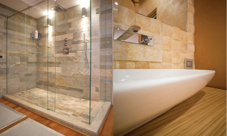 Bagni moderni idee per un arredamento contemporaneo - Colori per bagno ...