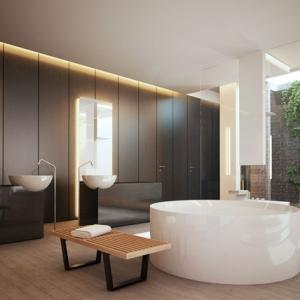 1001 idee per decorazioni bagno idee originali - Illuminazione bagno moderno ...