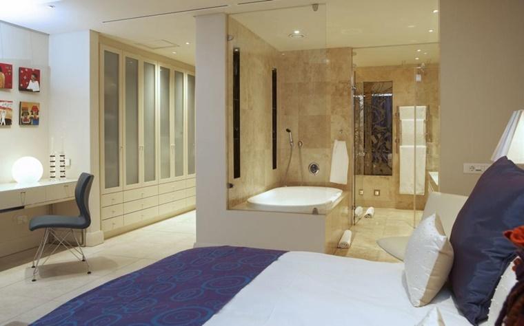 Bagno Aperto In Stile Moderno By Edone Design Interior : Arredamento bagno idee per la camera da letto archzine
