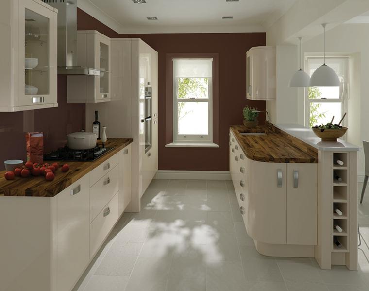 beige cucina mobili design moderno