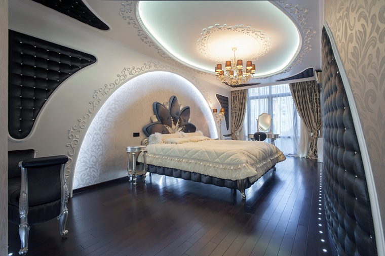 camera da letto moderna elegante lusso