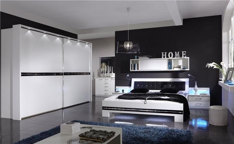 camera letto moderna armadio scorrevole