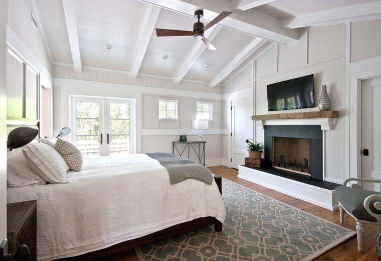 Camera Da Letto Travi A Vista : Travi in legno bianche esempi spettacolari e moderni
