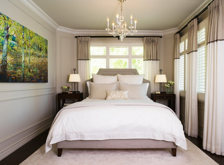 Lampadari moderni camera da letto - idee di tendenza