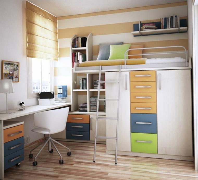 Camerette ragazzi un tocco di design interiore moderno - Soluzioni camerette piccole ...