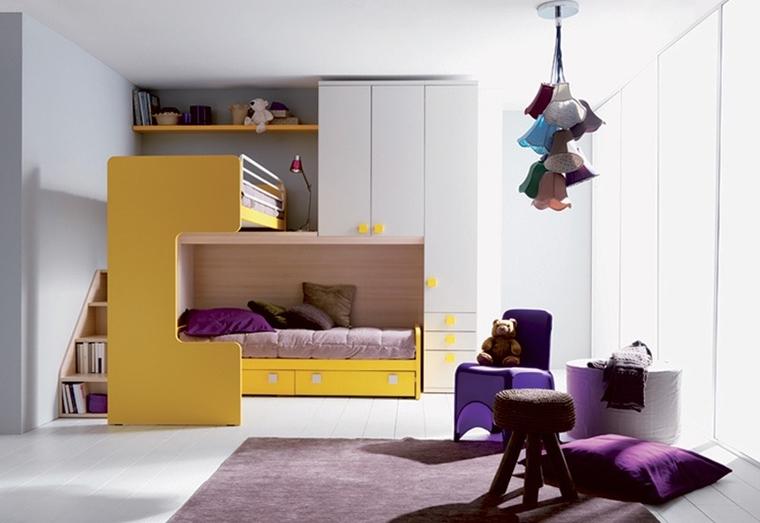 Camerette ragazzi un tocco di design interiore moderno for Divanetti per bambini