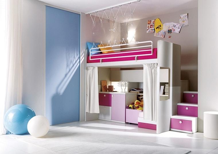 Camerette ragazzi un tocco di design interiore moderno - Camere da letto bambina ...