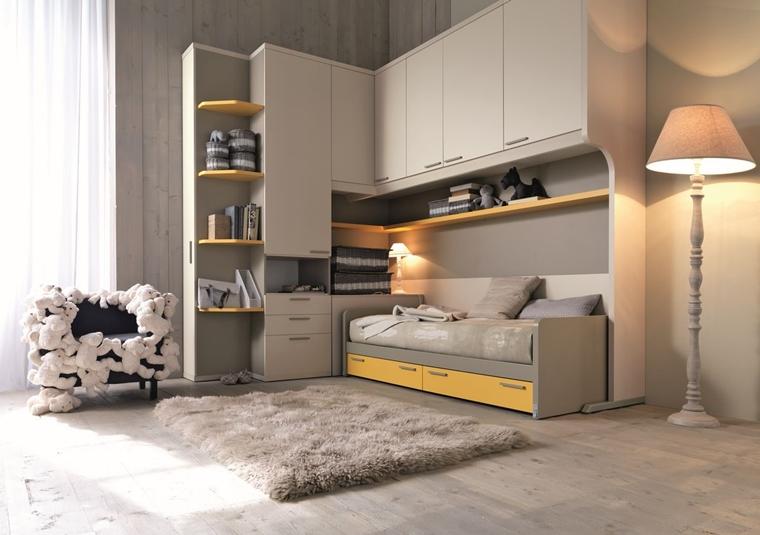 Camerette ragazzi un tocco di design interiore moderno - Camerette bambini moderne ...