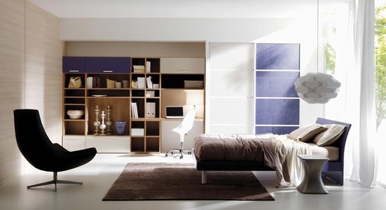 Camerette ragazzi un tocco di design interiore moderno - Camere da letto per ragazzi moderne ...