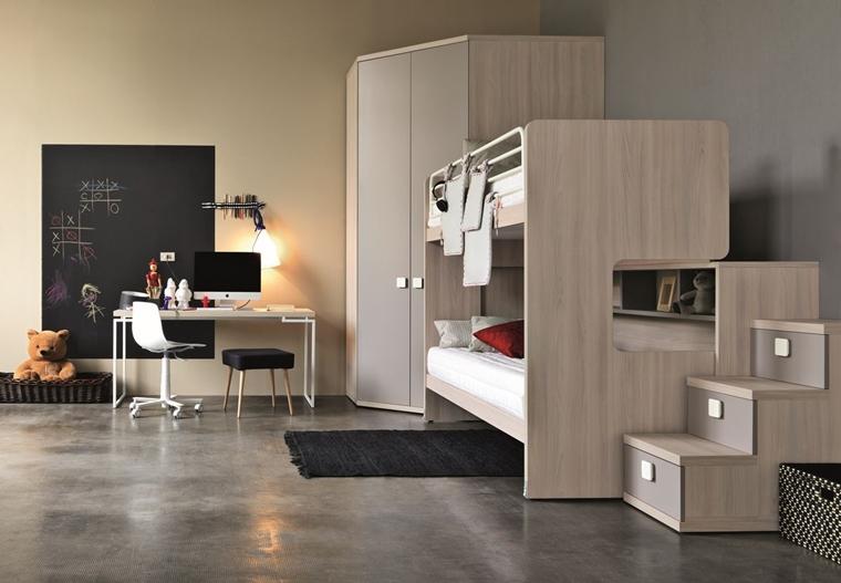 Camerette ragazzi un tocco di design interiore moderno for Camerette design