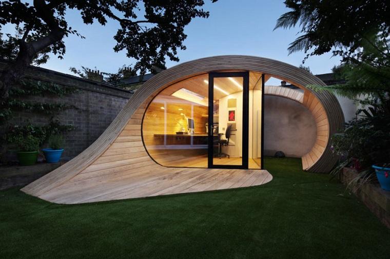 Casa Stile Moderno Esterni : Casa studio suggerimenti per la zona esterna e il giardino