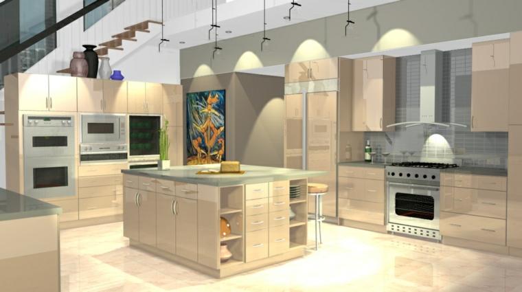 Cucina beige le mille sfumature di semplicit ed for Cucine moderne scure