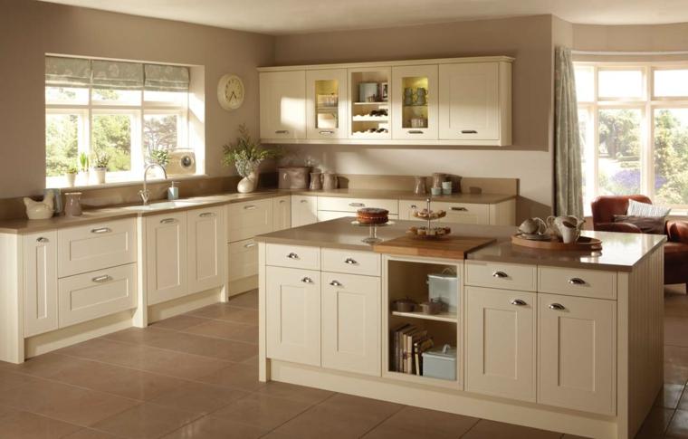colore beige elegante cucina raffinata