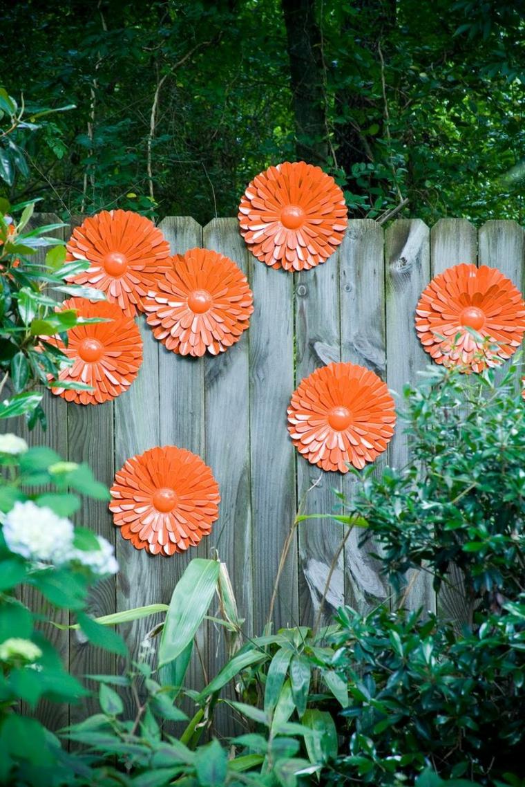 come abbellire un giardino idee semplici vivaci colorate