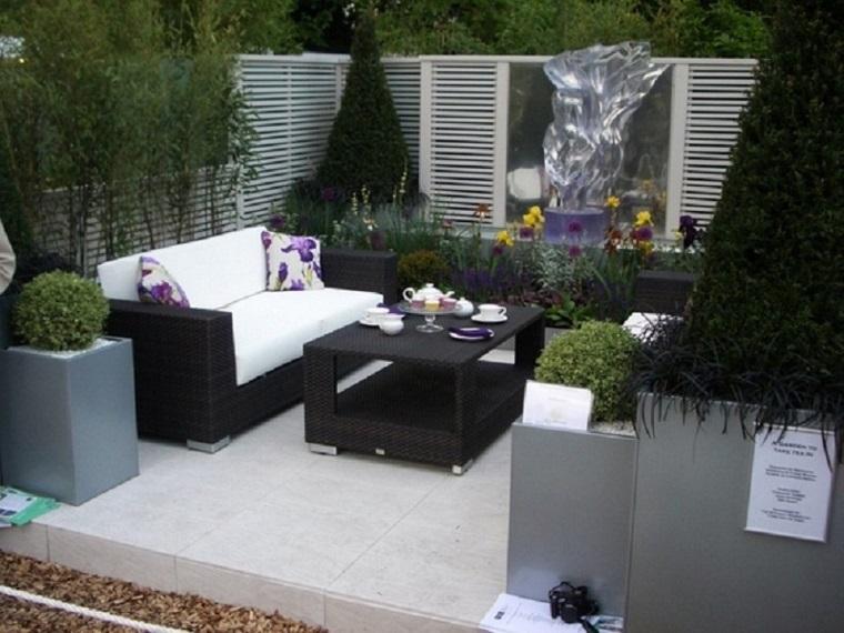 come arredare un terrazzo stile sofisticato