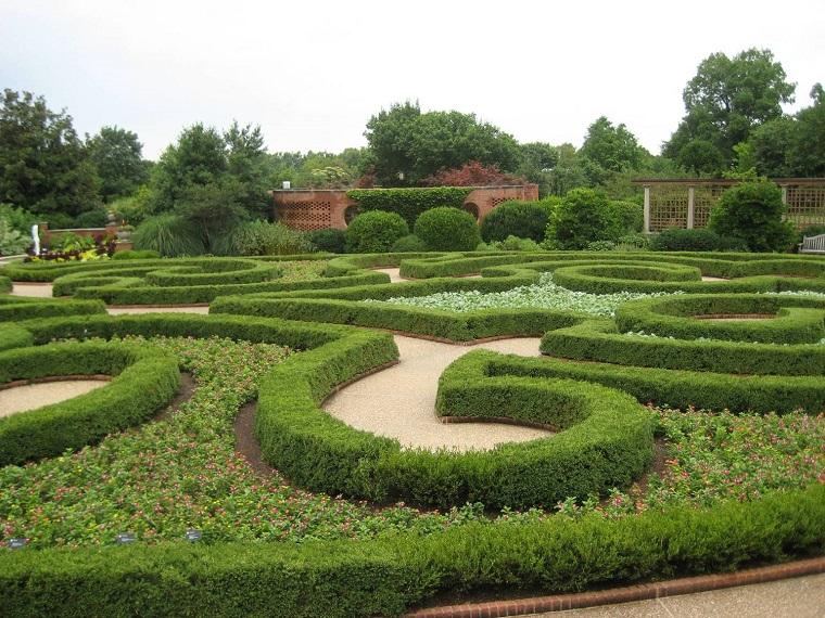 come progettare un giardino disegni geometrici