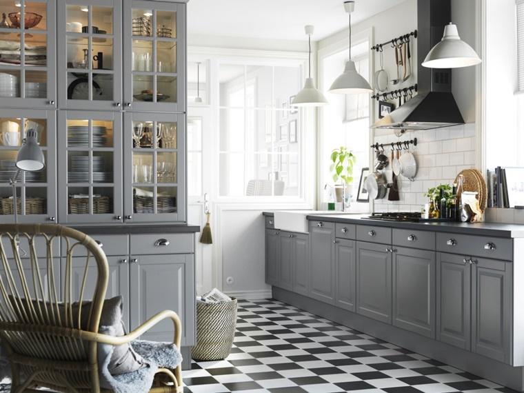 Credenza Con Cucina : Cucina grigia idee suggerimenti di armonia ed eleganza