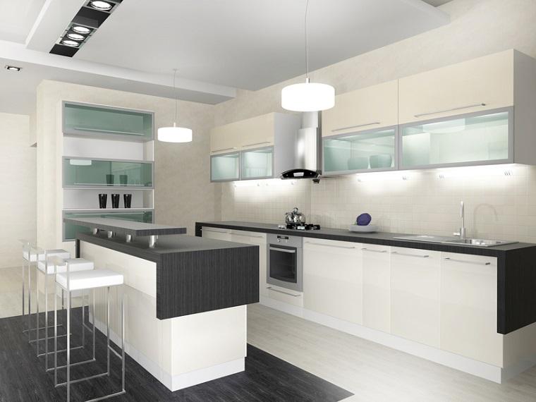 Cucine Moderne Bianche Con Isola.Cucine Moderne Bianche Una Scelta Innovativa E Particolare
