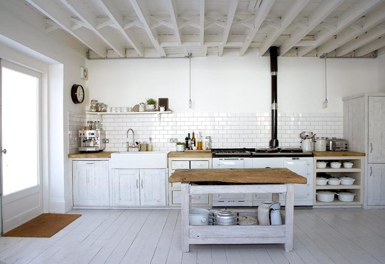 Cucine Bianche Moderne Con Inserti In Legno Le Nuove Tendenze