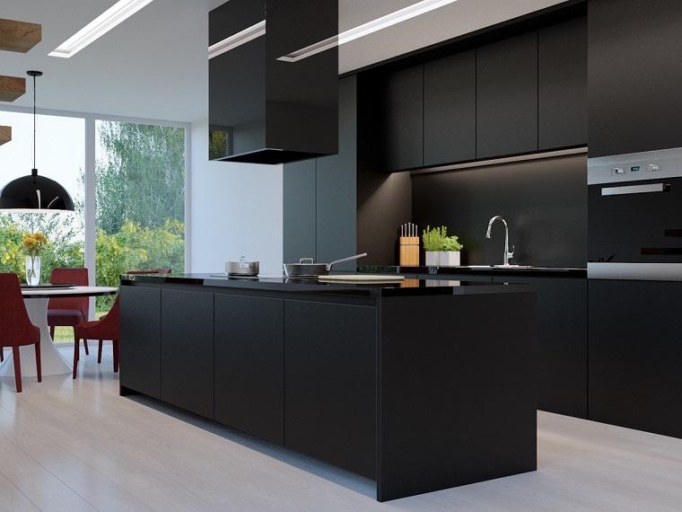 Cucina nera l eleganza intramontabile di uno spazio vissuto