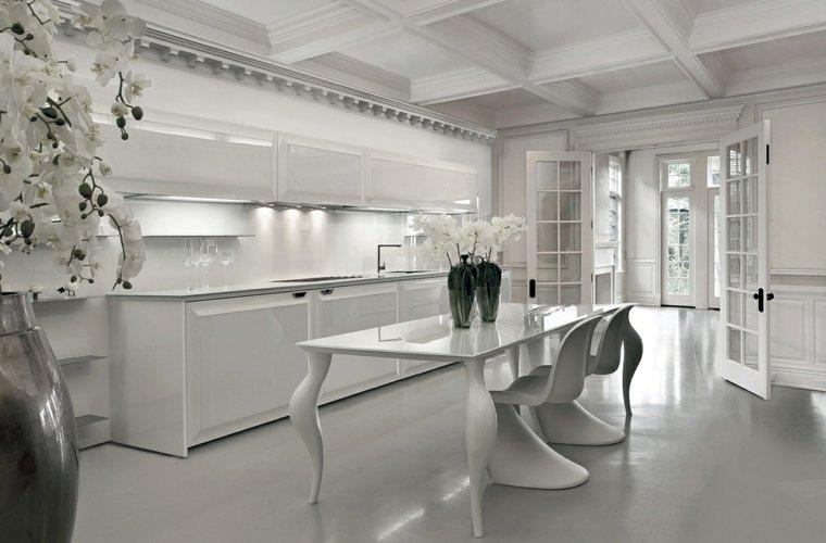 Credenza Da Abbinare A Cucina Moderna : Cucine bianche abbinamento perfetto con lo stile moderno