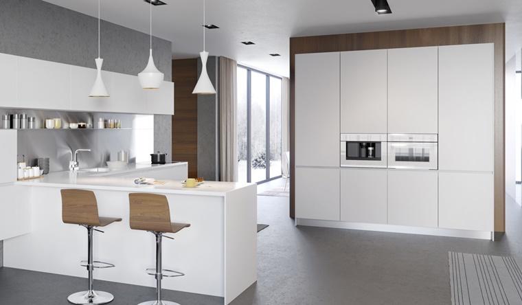 Cucine bianche abbinamento perfetto con lo stile moderno for Luci cucina design