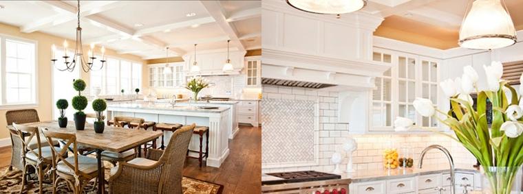 Cucine bianche moderne con inserti in legno le nuove for Cucine bianche laccate