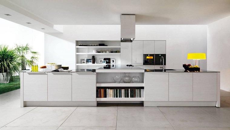 Cucine moderne bianche una scelta innovativa e for Decorazioni cucine moderne