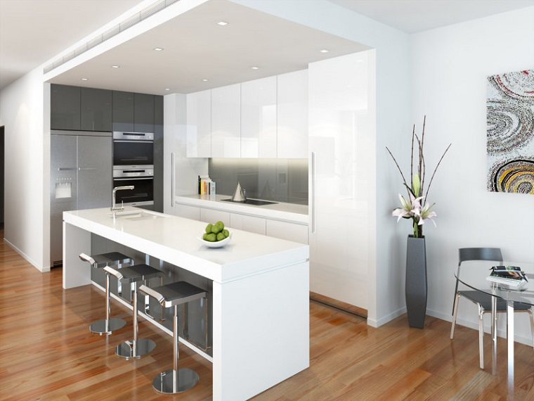 Cucine moderne bianche una scelta innovativa e particolare