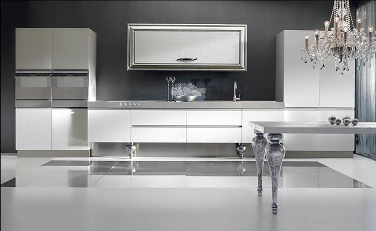 Cucine Moderne Semplici.Cucine Moderne Bianche Una Scelta Innovativa E Particolare