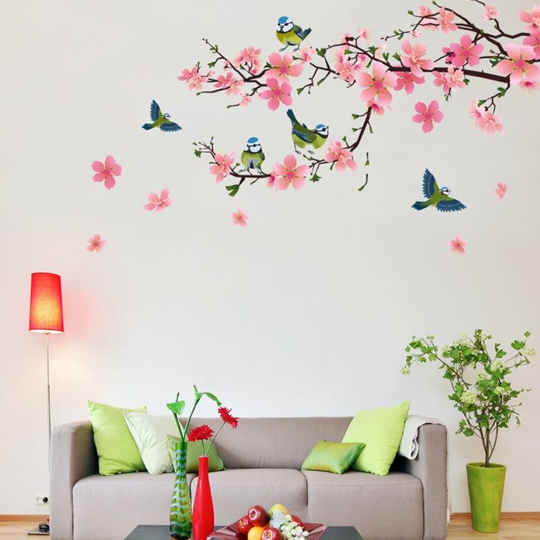 decorare casa stickers murale ideale soggiorno