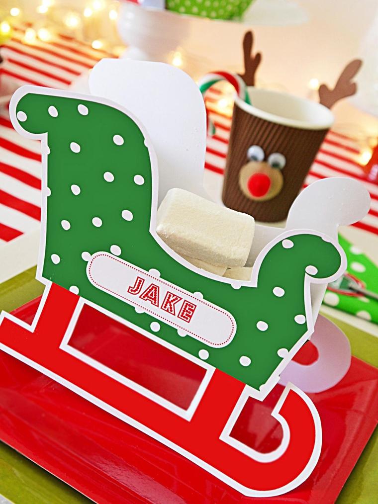decorazione natalizie originale fatta mano