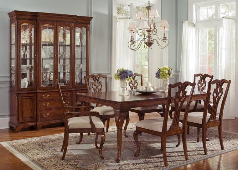decorazioni classiche sala pranzo classica