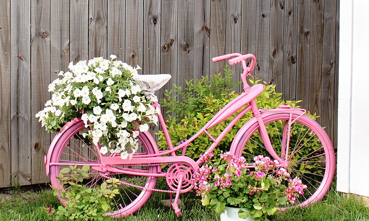 Decorazioni fai da te per un giardino dal design originale for Decorazioni shabby chic fai da te