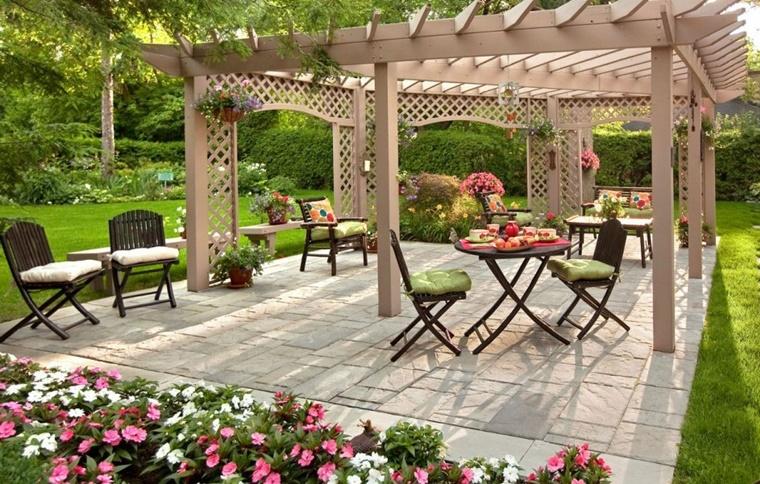 decorazioni fai da te giardino fiori