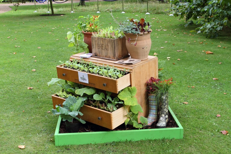 decorazioni fai da te idea originale giardino