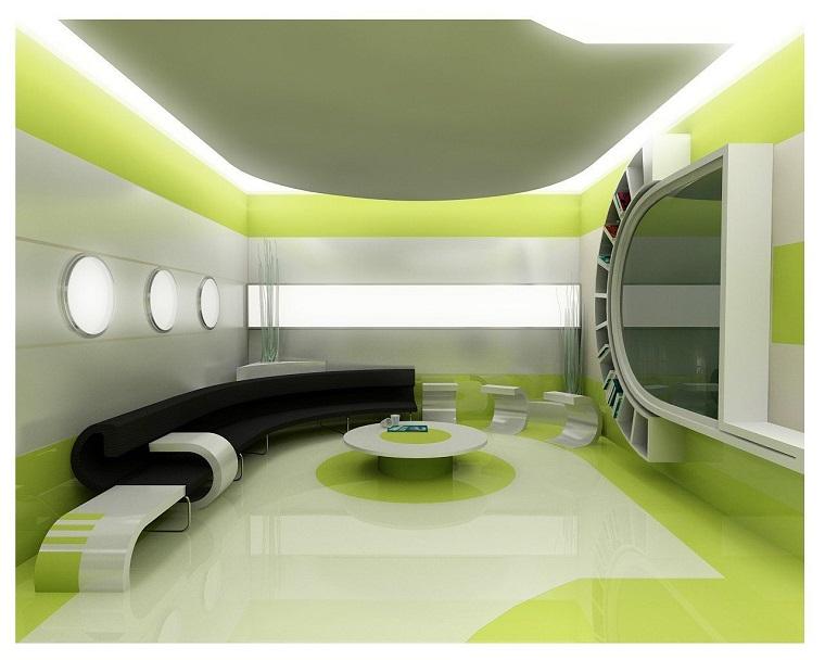 decorazioni fai da te interior design futuristiche