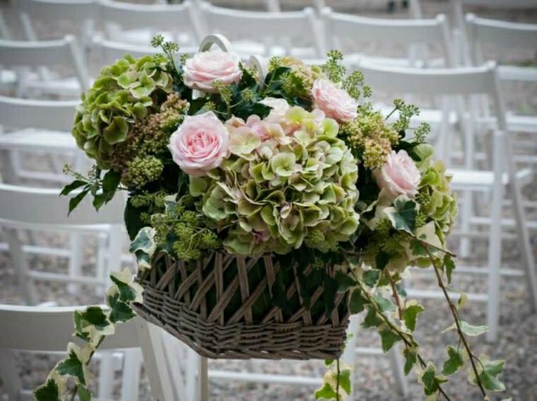 decorazioni floreali matrimonio semplici originali