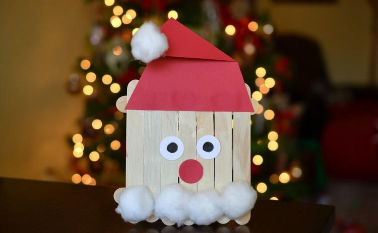 decorazioni natalizie bastonicini gelato cottone carta