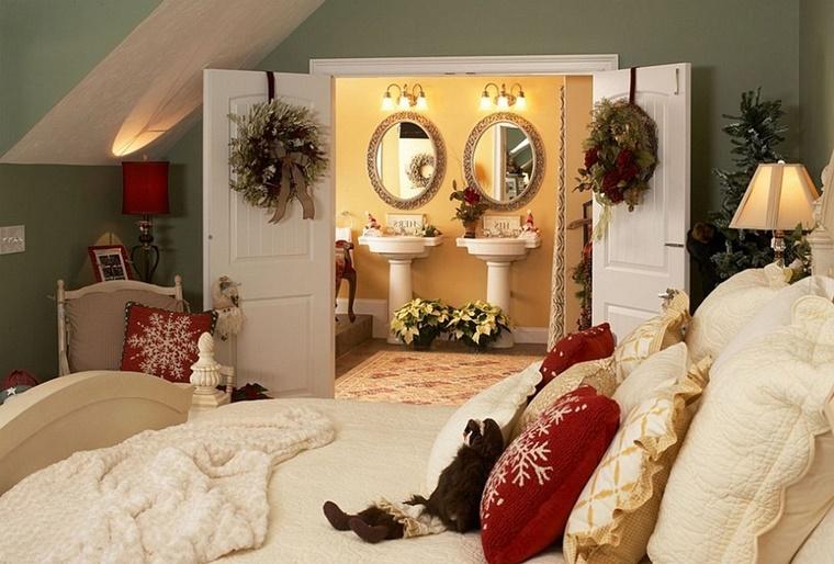 Decorazioni natalizie idee genuine per la vostra casa - Decorazioni camera da letto ...