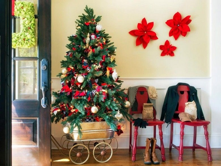 Come addobbare la casa per natale idee eleganti e chic - Decorazioni natalizie in casa ...