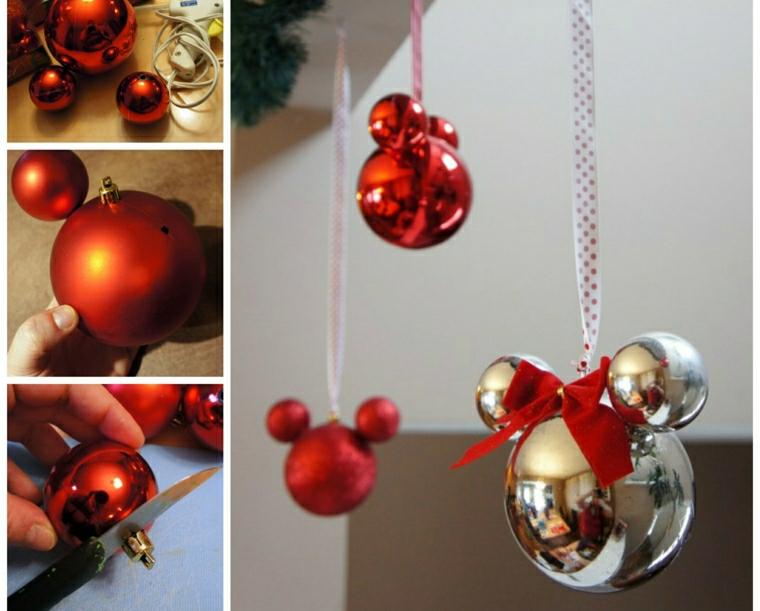 decorazioni natalizie per bambini forme topolino