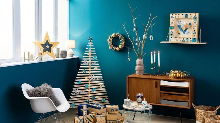 Decorazioni natalizie idee genuine per la vostra casa - Decorazioni natalizie moderne ...