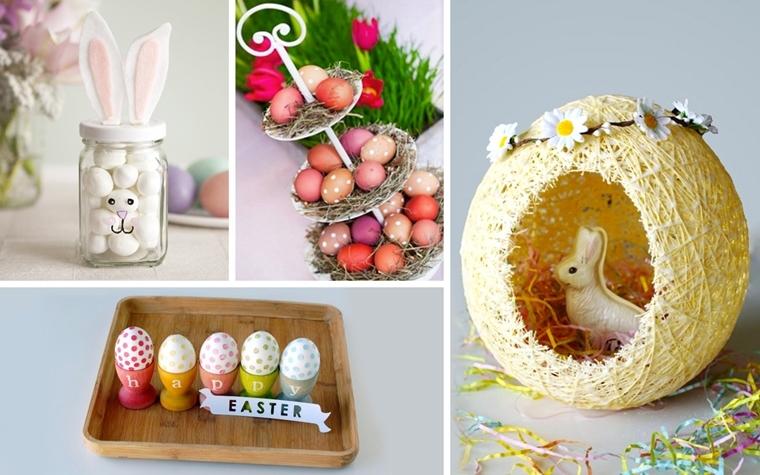 decorazioni pasquali fai te uova