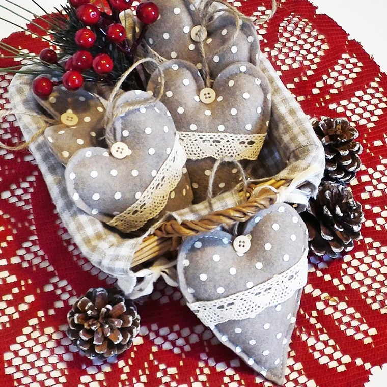 Addobbi natalizi shabby chic idee da togliere il fiato - Addobbi natalizi per tavola da pranzo ...