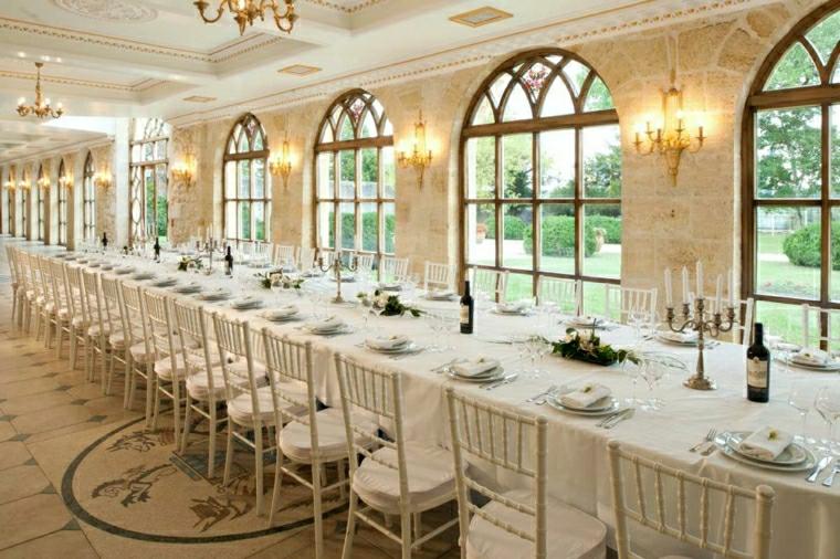 decorazioni tavolo elegante particolare nozze