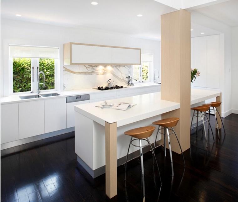 Cucine bianche abbinamento perfetto con lo stile moderno - Mobili laccati lucidi graffiati ...