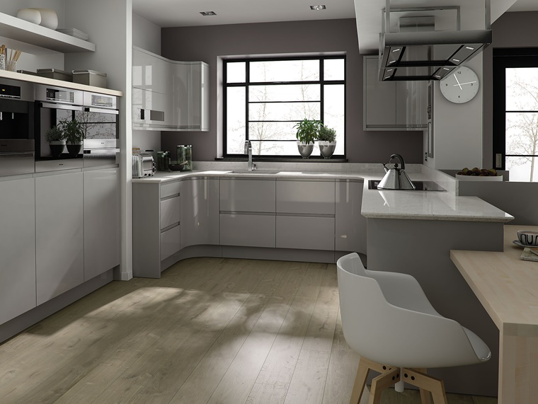Cucina grigia - idee, suggerimenti di armonia ed eleganza ...