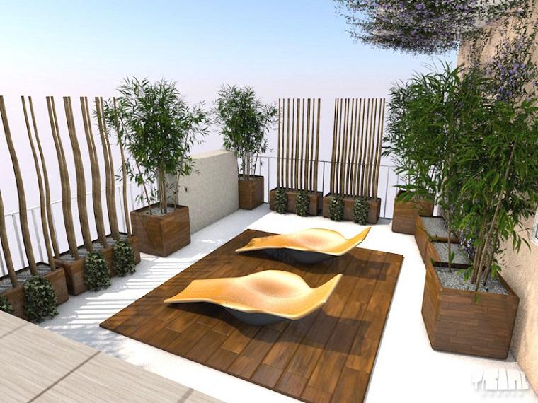 Design ultra moderno terrazzo riservato