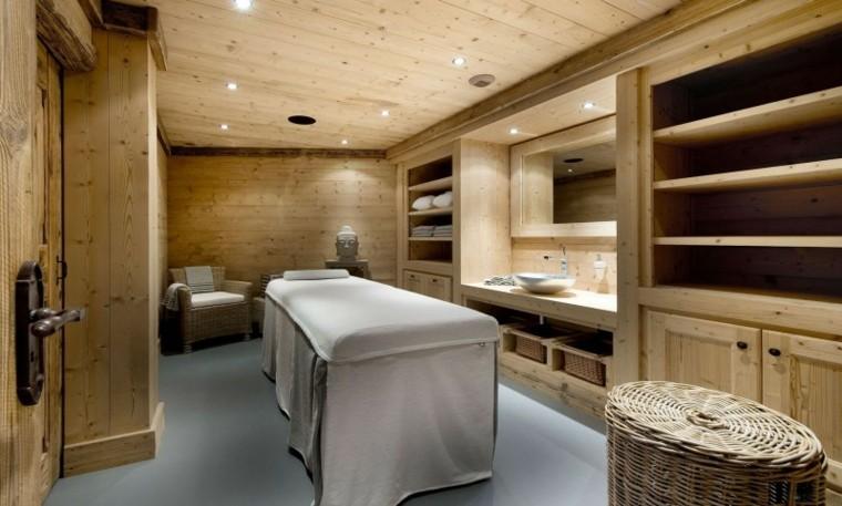 faretti led bagno soffitto legno